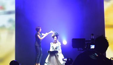 ファッションショー・TVのヘアメイク